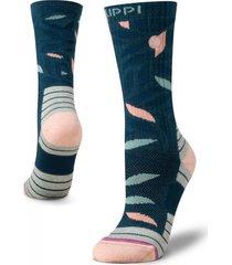 calcetin mujer trekking warm socks azul lippi