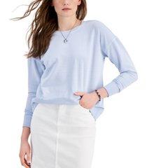 style & co crewneck sweatshirt, created for macy's