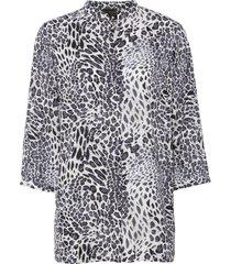 camicetta con colletto alla coreana (grigio) - bpc selection