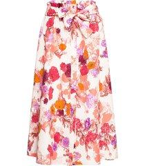acronimo lång kjol rosa max&co.