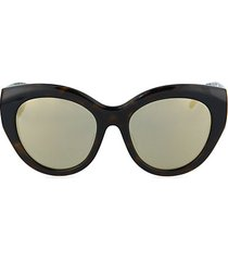 53mm rounded cat eye sunglasses