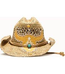 sparti cappello western bucranio