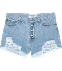 forte dei marmi couture denim shorts