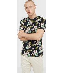 premium by jack & jones jprdale bla. tee ss crew neck pre t-shirts & linnen svart