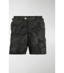 tom ford camouflage-print swim shorts
