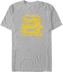 nickelodeon men's legends of the hidden temple snakes logo short sleeve t-shirt