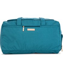 infant girl's ju-ju-be superstar duffle bag - blue/green