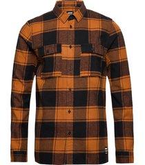 luke shirt skjorta casual multi/mönstrad dr. denim