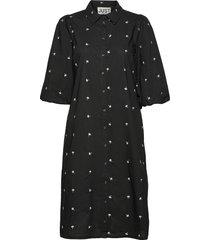 lida dress dresses shirt dresses svart just female
