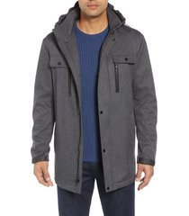 marc new york doyle soft shell jacket, size medium in grey at nordstrom
