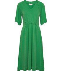 abeliw dress knälång klänning grön inwear