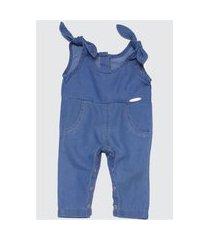 1817 - macacão jeans amiguinha