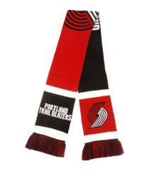 forever collectibles portland trail blazers colorblock cropped big logo scarf