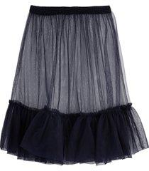 il gufo tulle blue skirt