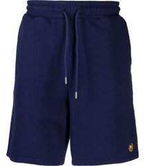 bel-air athletics logo embroidered track shorts