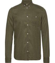 laurent tencel shirt overhemd casual groen les deux