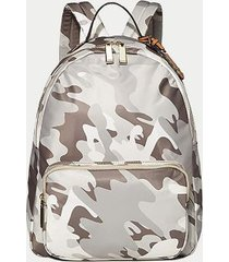 tommy hilfiger women's camo backpack neutral/stone -