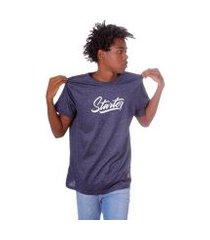 camiseta starter estampada black label lettering masculino