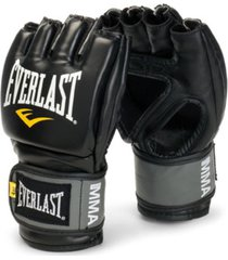 everlast pro style grappling gloves small/ medium black