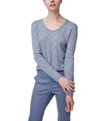 b new york knit v-neck top