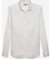 camisa dudalina manga longa cetim sarja maquinetado masculina (generico, 48)