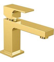 monocomando para banheiro mesa unic gold 2875.gl90 - deca - deca
