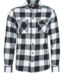 overhemd lange mouw dickies new sacramento shirt black