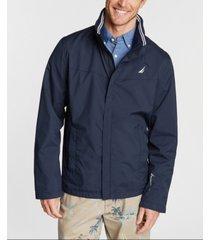 nautica men's waterproof hooded jacket