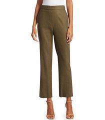 stretch linen twill pants