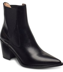 munis_ne shoes boots ankle boots ankle boot - heel svart unisa