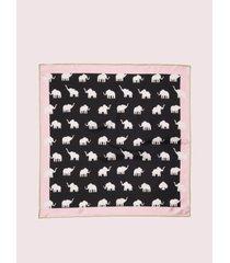 kate spade new york elephant silk bandana