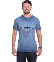 camiseta javali azul brooklyn - kanui