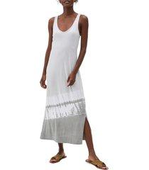 women's michael stars cali front to back dress, size x-small - grey