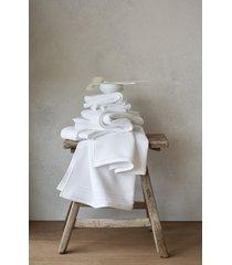the white company supersoft waffle bath towel