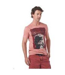 camiseta convicto estampada back to black rosê