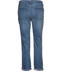 v-soft gf med tazz raka jeans blå gap