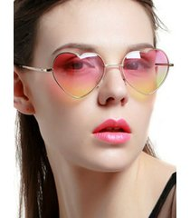 heart shape ombre sunglasses