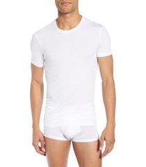 calvin klein ultrasoft modal blend crewneck t-shirt, size large in white at nordstrom