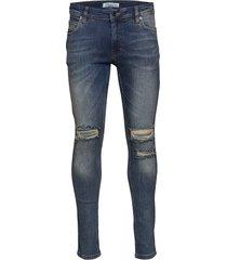 max of-652 skinny jeans blå just junkies