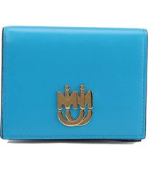 miu miu leather small wallet