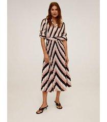 midi-jurk met geometrische print