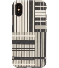 richmond & finch platinum stripes case for iphone x and xs