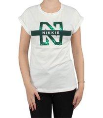 n logo snake t-shirt