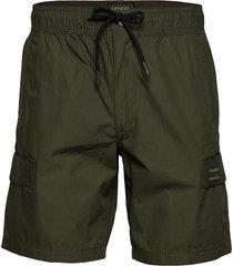 utl cargo short shorts casual grön superdry