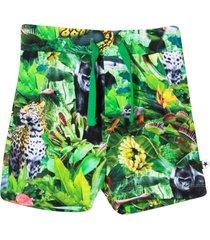 molo multicolor print bermuda shorts