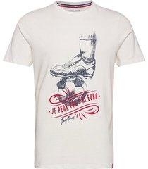jorsoccer tee ss crew neck t-shirts short-sleeved vit jack & j s