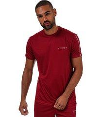 mens axton poly t-shirt and shorts set
