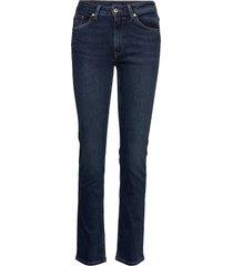 slim super stretch jeans slimmade jeans blå gant