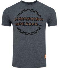 camiseta hd estampada 6761a - masculina - cinza escuro
