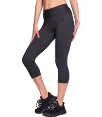 legging everlast mid basic gris - calce ajustado